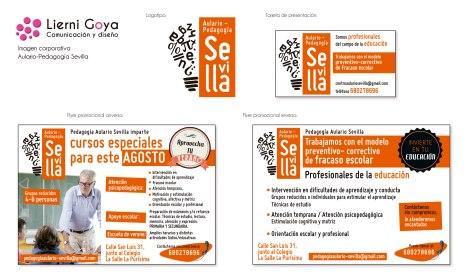 Imagen gráfica realizada para la apertura del aulario Sevilla