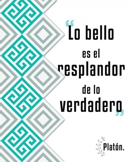 Frase sobre creatividad del filósofo griego Platón