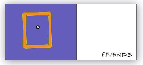Diseño minimalista, basado en la técnica asociativa, con uso exclusivo de formas geométricas